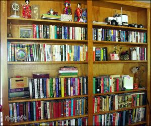 My lovely bookshelf